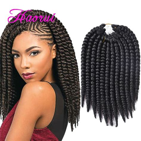 mambo hair twist 14inch natural havana mambo twist crochet braid hair