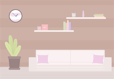 living room vector   vector art stock