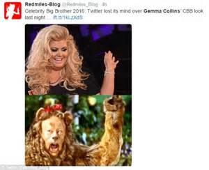 Gemma Collins Memes - celebrity big brother 2016 s gemma collins big hair