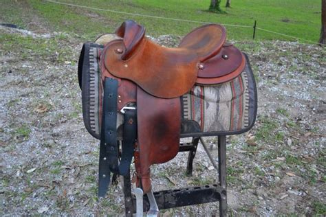 half breed swinging fender saddle ken read winning edge swinging fender half breed stock