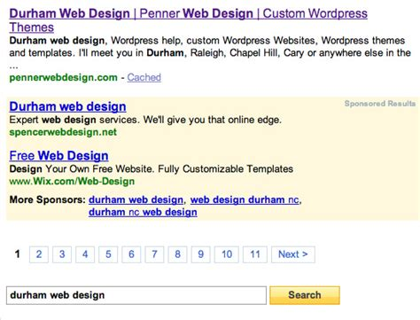 yahoo web page layout seo page one quest update penner web design 1 yahoo 0