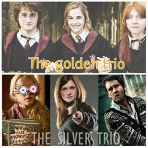 harry potter hermione granger and weasley the golden