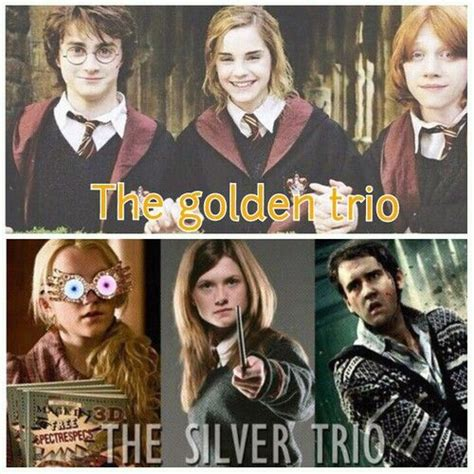 Ginny Weasley Hermione Granger by Harry Potter Hermione Granger And Weasley The Golden