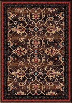 Commercial Grade Area Rugs High Country Area Rug Western Rugs Overall Pattern In Colors That Will Complement Any Decor