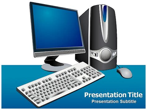 powerpoint 2007 themes computer powerpoint template computer images powerpoint template