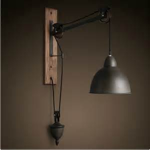 pendant light wall barn pulley wall light vintage industrial cast iron wall