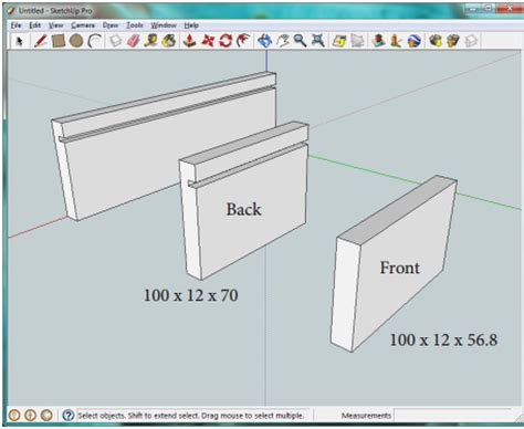 sketchup layout in mm draw accurately with google sketchup