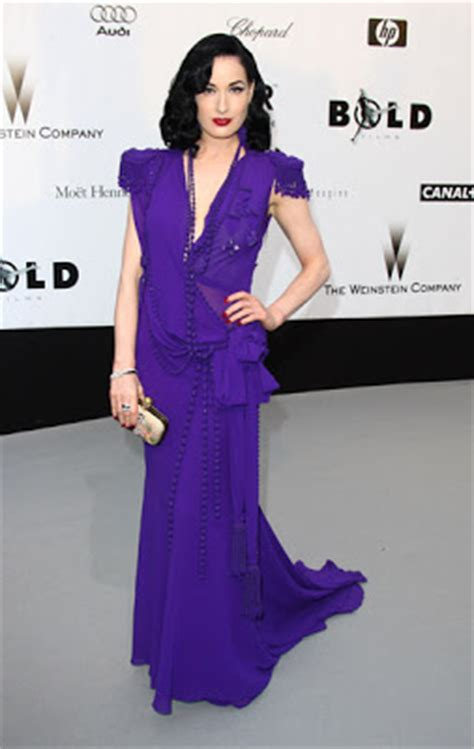 So Many Nightmare Metallic Dresses So Time by The House Of Fabulous 2008 Cannes Festival Amfar S