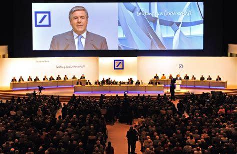 deutsche bank privatkunden deutsche bank setzt auf privatkunden ackermann auf