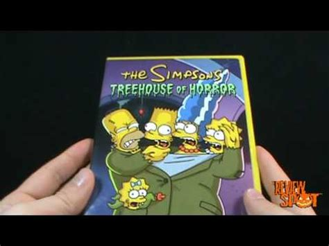 the simpsons treehouse of horror 12 spooky spot the simpsons treehouse of horror dvd take 2