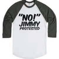 Kaos T Shirt No Jimmy Protested 5sos logo necklace unfd from weareunified