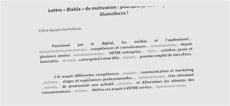 Lettre De Motivation Ecole De Transport Une Lettre De Motivation Blabla Tr 232 S Originale Et Efficace Lettres De Motivation Le