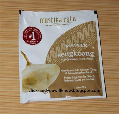 Masker Wajah Mustika Ratu Bengkoang rekomendasi 5 masker wajah brand lokal yang bisa kamu coba