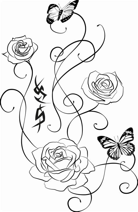 small black and white rose tattoos pics for gt small black and white tattoos