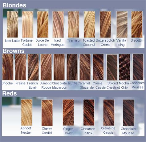 what color is my hair chart i dont what color my hair is page 2