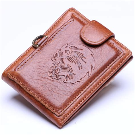 Handmade Mens Leather Wallets - designer vintage handmade 100 genuine leather wallet