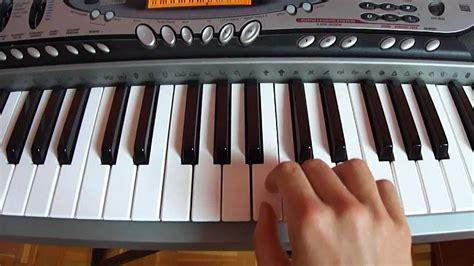 tutorial na keyboard jak zagrać ż 243 łty ananas na keyboard tutorial youtube