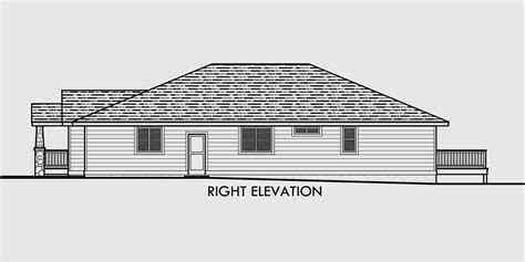 House Plans With Walkout Basement On Side by Side Sloping Lot House Plans Walkout Basement House Plans
