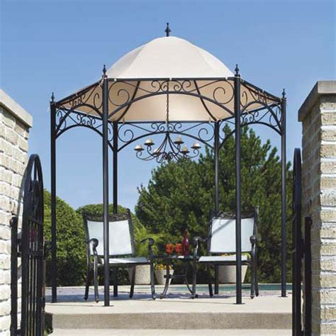replacement canopy  living accents dome gazebo garden winds