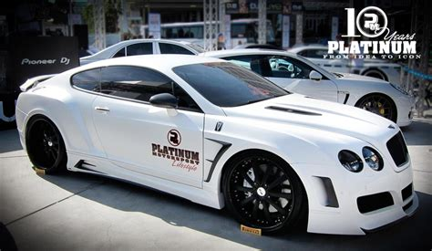 widebody bentley 2010 bentley widebody gt premier4509 platinum edition