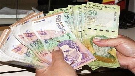 cotizacion del peso colombiano frente al bolivar venezolano el bol 237 var cae a sus m 237 nimos hist 243 ricos frente al peso
