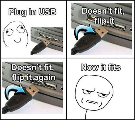 Usb Meme - self flipping pen drive