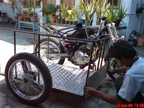 modifkasi motor untuk penyandang cacat difabel terbaru