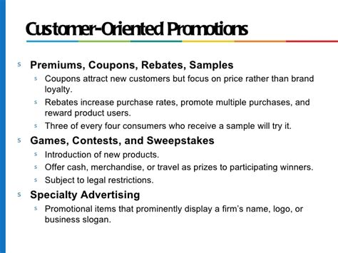 Advertising Personal Selling Coupons And Sweepstakes Are Forms Of - chapter 13 promotion pricing