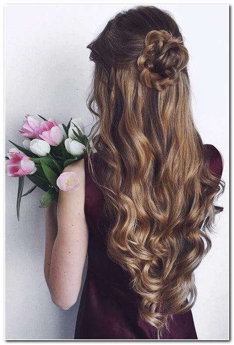 prom hairstyles curls down prom hairstyles half up half down curly new hairstyle