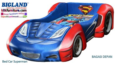 bed car superman bigland harga promo termurah no 1