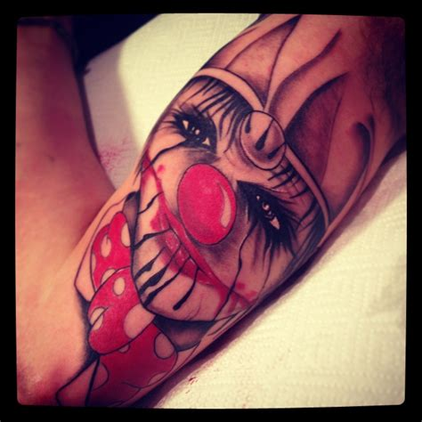 clown tattoo by unibody on deviantart clown tattoo by unibody on deviantart