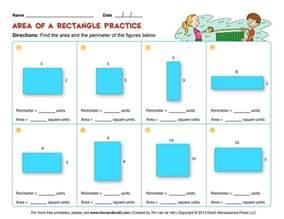 area and perimeter worksheets third grade math worksheets