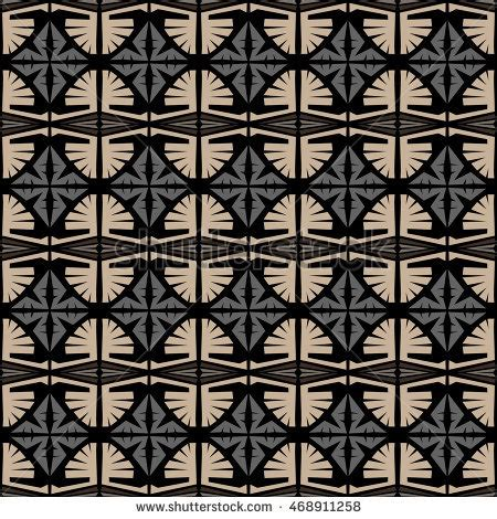 tribal pattern texture black gray stripes ethnic pattern stock illustration