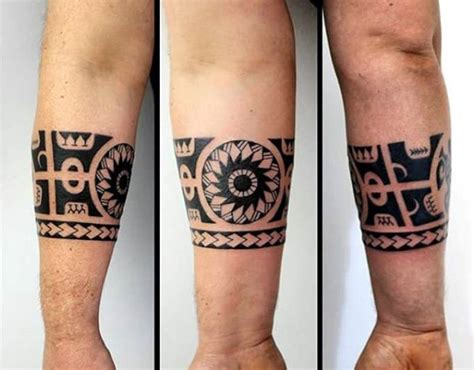 50 tribal armband tattoo designs for men masculine ink ideas
