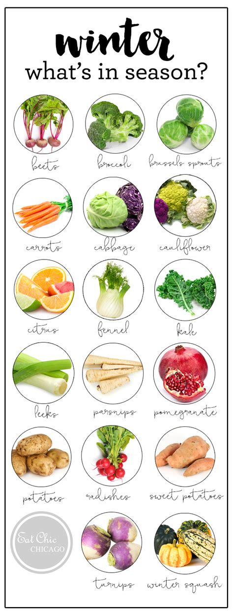 vegetables in season what s in season winter produce guide healthy rd
