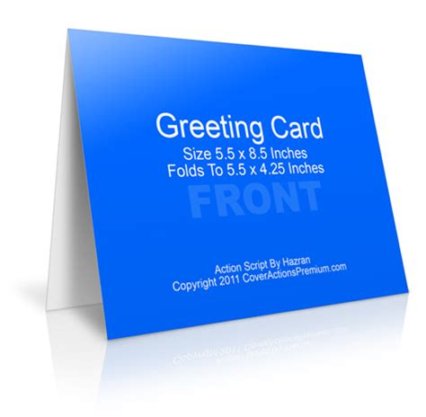 4 x 5 greeting card template a2 size half fold greeting card cover actions cover