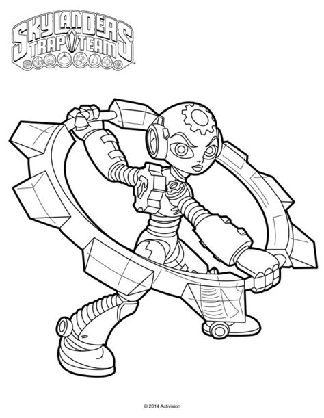 krypt king coloring pages kids n fun 33 kleurplaten van skylander trap team
