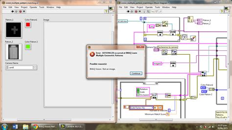geometric pattern matching labview machine vision topics