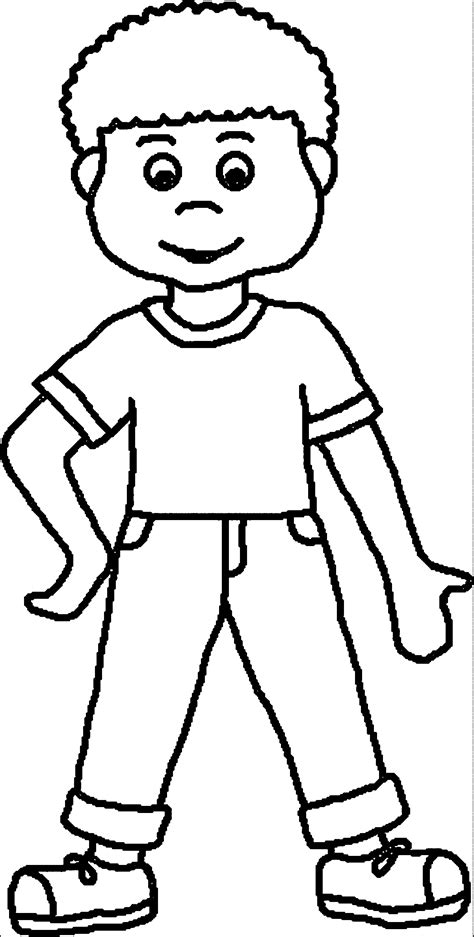 coloring pages a boy color clipart boy coloring pencil and in color color