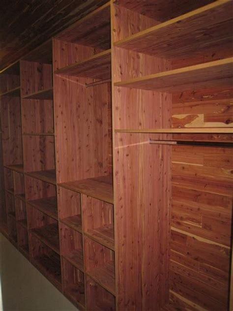 building cedar closet woodworking projects plans