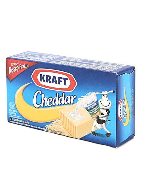 B9 Kraft Keju Cheddar Olahan 175g kraft keju cheddar olahan box 175g klikindomaret