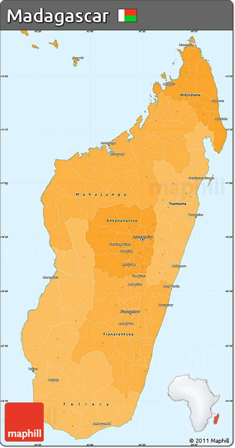 political map of madagascar free political shades simple map of madagascar