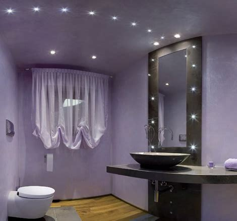 gray and purple bathroom ideas luces led para paredes y techos