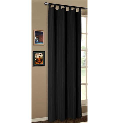 vorhang schwarz vorhang blickdicht schlaufenschal aus microsatin matt