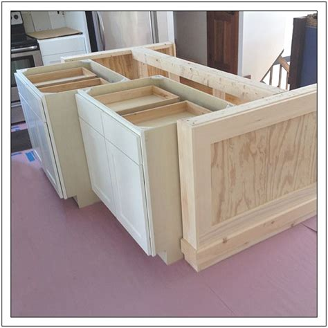 how to make kitchen island from cabinets 25 best ideas about build kitchen island on pinterest