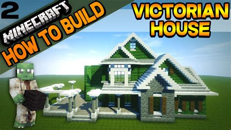 how to build a victorian house minecraft victorian house how to build e02 youtube