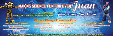 design contest philippines 2016 calling all grades 7 to 10 science week poster making contest