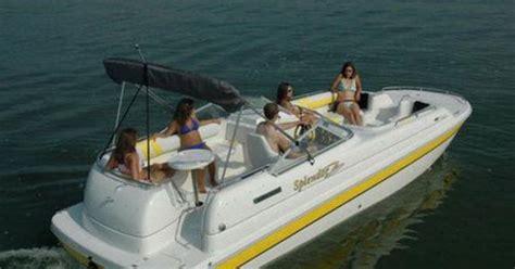 catamaran deck boat power catamaran in board deck boat 240 platinum splendor