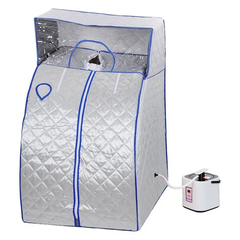 Alat Sauna Dirumah Sauna Steam Portable 2l portable therapeutic steam sauna cover detox loss weight home 4 colors ebay