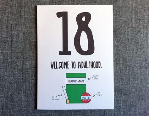 18th Birthday Card Designs Funny 18th Birthday Card 18th Birthday Card By